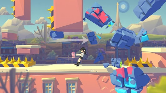 screenshot of Smashing Rush : Parkour Action Run Game version 1.7.0
