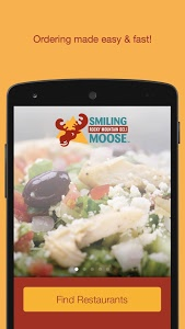 screenshot of Smiling Moose version 5.9.1