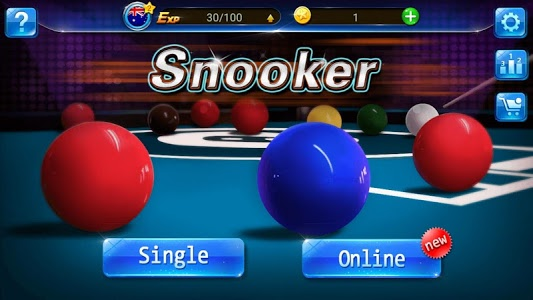 screenshot of Snooker version 5.4