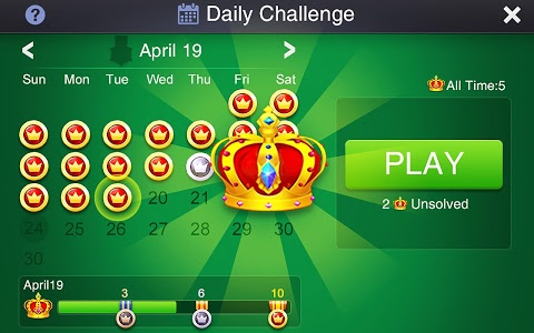 screenshot of Solitaire: Super Challenges version 2.6.0