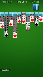 screenshot of Spider Solitaire - Best Classic Card Games version 1.6