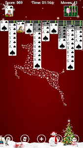 screenshot of Spider Solitaire version 3.12