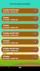 screenshot of Spins and Coins - New Updated Links for Free version 1.0.4
