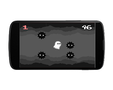 screenshot of Spooky Tunnel - A Infinite Runner Ghost 2D Game version 1.2