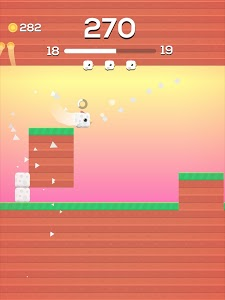 screenshot of Square Bird version 3