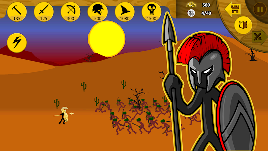 screenshot of Stick War: Legacy version 1.11.152