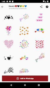 screenshot of New Stickers - WAStickerApps version Varies with device