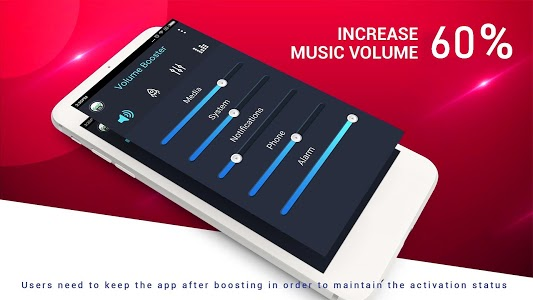 screenshot of Super Loud Volume Booster 🔊 Speaker Booster version 9.1.7