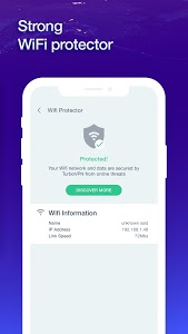 screenshot of SurfVPN Proxy To Unblock Sites With IP Changer version 1.2.0