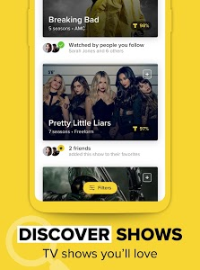 screenshot of TV Time - #1 Show Tracker version 7.5.2-19031103