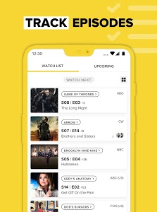 screenshot of TV Time - Track Shows & Movies version 8.1.0-2019092601