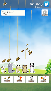 screenshot of Tap Tap Stretch Cat! -Strange cat idle game version 1.10