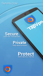 screenshot of TapVPN Free VPN version 0.7.28