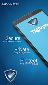 screenshot of TapVPN Free VPN version 0.7.74