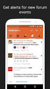 screenshot of Tapatalk - 100,000+ Forums version Varies with device