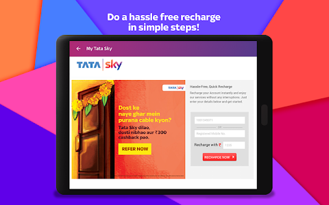 screenshot of Tata Sky Mobile- Live TV, Movies, Sports, Recharge version 9.15