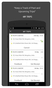screenshot of TaxiForSure book taxis, cabs version 4.3.0
