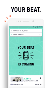 screenshot of Beat - Ride app version Varies with device