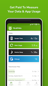screenshot of Telephia version 1.0.76