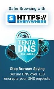 screenshot of Tenta Private VPN Browser + Ad Blocker (Beta) version 3.0.7
