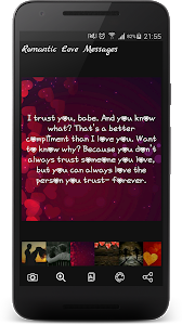 screenshot of The Best Romantic Love Messages version 2.1