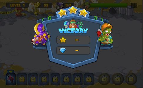 screenshot of The Final Defence version 1.1