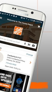 screenshot of The Home Depot version 5.1