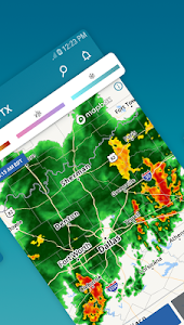 screenshot of Weather alerts & live maps - The Weather Channel version Varies with device