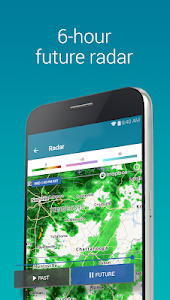screenshot of Weather Maps & Storm Radar - The Weather Channel version Varies with device