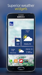 screenshot of The Weather Channel version Varies with device