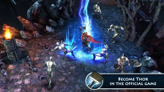 screenshot of Thor: TDW - The Official Game version 1.2.0n