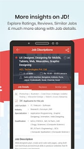 screenshot of TimesJobs - Job Search and Career Opportunities version 11.0.2