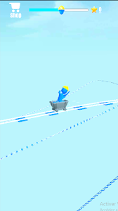 screenshot of Tiny Rail - Crazy Loops version 2.2