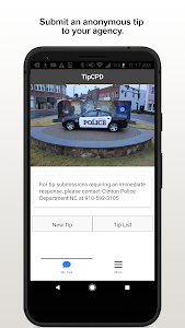 screenshot of TipCPD version 2