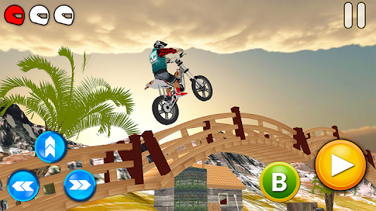 screenshot of Tricky Bike Racing With Crazy Rider 3D version 1.26