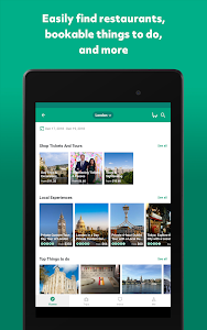 screenshot of TripAdvisor Hotels Flights Restaurants Attractions version 18.8
