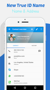 screenshot of Track Caller Name and Location version 4.4