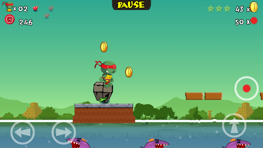 screenshot of Turtle vs. Zombies version 3.4.24