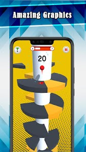 screenshot of Twister Ball Jump: Challenging Game version 1.1