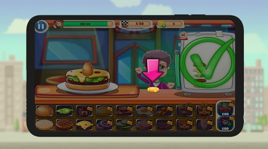 screenshot of Uncle Sam's Burger Place version 1.3