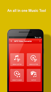 screenshot of Video to MP3 Converter version 1.0.6