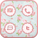 Download Vintage flower icon Theme 1.0 APK