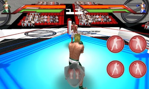 screenshot of Virtual Boxing 3D Game Fight version 1.9
