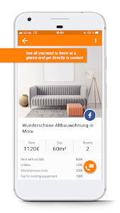 screenshot of WG-Gesucht.de - Find your home version 1.23.0
