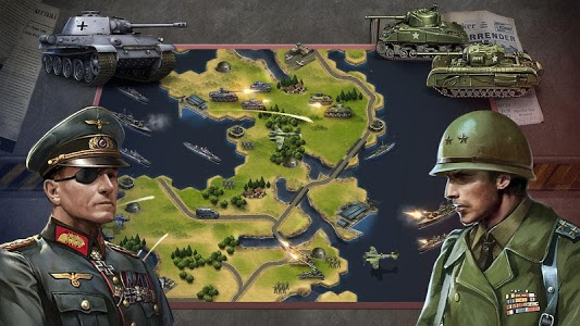 screenshot of WW2: Strategy Commander Conquer Frontline version 2.1.3