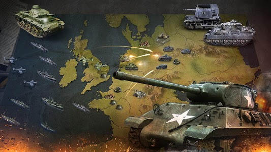 screenshot of WW2: Strategy Commander Conquer Frontline version 1.2.8
