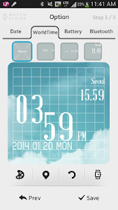 screenshot of Watch Styler for Android Wear version 1.3