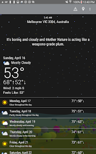 screenshot of What The Forecast?!! version 3.36.2.211