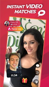 screenshot of WHO - Live video chat dating & Match & Meet me version 1.9.15