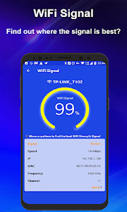 screenshot of WiFi Booster - Internet Speed Test & WiFi Manager version 1.0